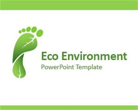 environment template free templates powerpoint templates free ppt