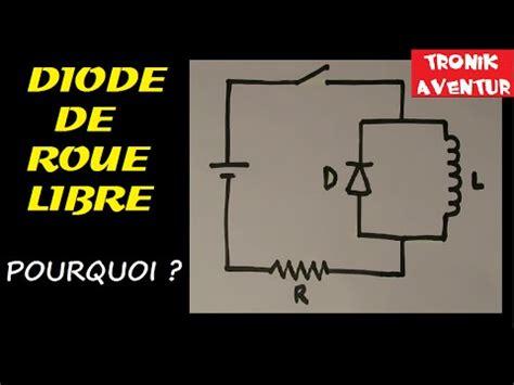 diode de roue libre 1n4007 tronik aventur 144 pourquoi diode avec bobine diode de roue libre electronique pour les nuls