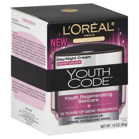 Skin Care L Oreal l oreal skin expertise youth code moisturizer day