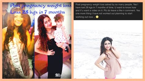 weight loss 7 months dimple d souza post pregnancy weight loss lost 28 kgs