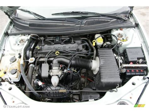 2005 Chrysler Sebring Engine by 2005 Chrysler Sebring Sedan 2 4 Liter Dohc 16 Valve 4