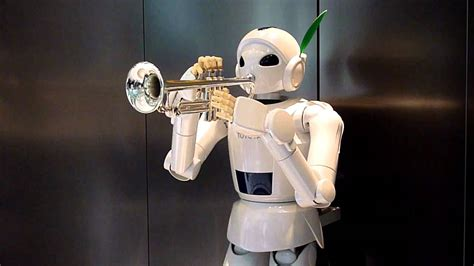 toyota partner robot toyota partner robot trumpet