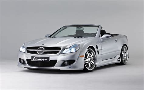 who makes mercedes cars valley the lorinser tuned mercedes sl class