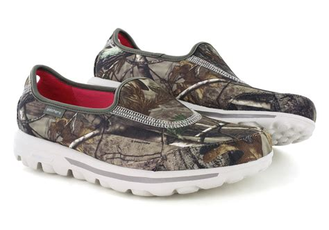 womens camo sneakers womens skechers go walk timber slip on realtree camouflage