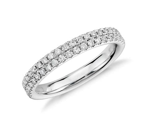 rialto pav 233 ring in 14k white gold 1 3 ct tw