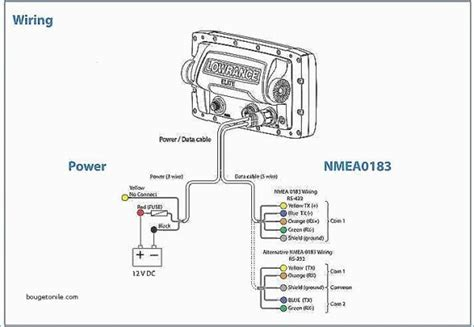lowrance hds  wiring diagram