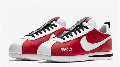 kendrick lamar x nike kendrick lamar x nike cortez red ar5131 610 the sole