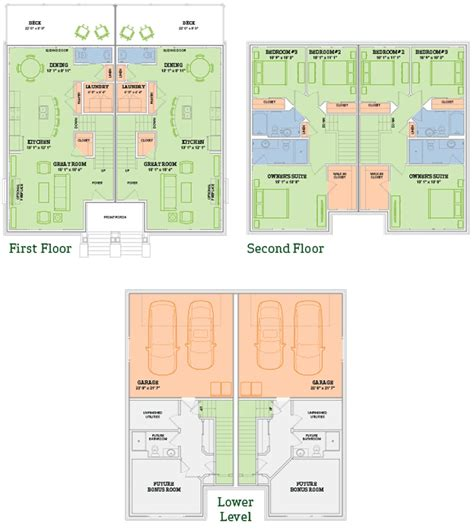veridian homes floor plans the aldo twin home home plan veridian homes