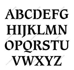 az letter templates lowercase a z sets view buy this stencil lowercase letter stencil filed under free diy printables free downloads free printables