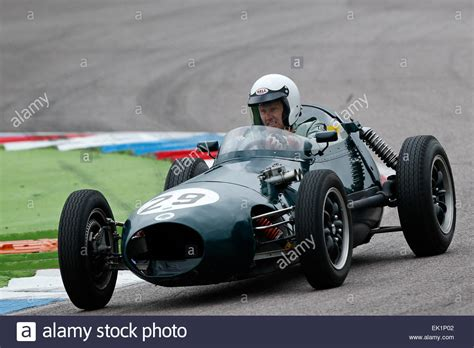 Classic Race Cars by Classic Racing Cars Are Seen During The Historic Motor