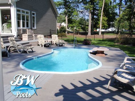 inground pools for small yards bw pools inground pools virginia beach bw pools