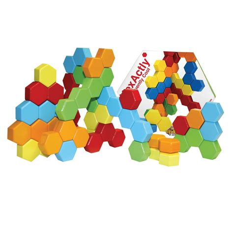 pattern puzzle games online fat brain toys hexactly pattern and puzzle game ebay