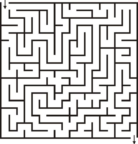printable maze creator brain teasers reflections of pop culture life s challenges