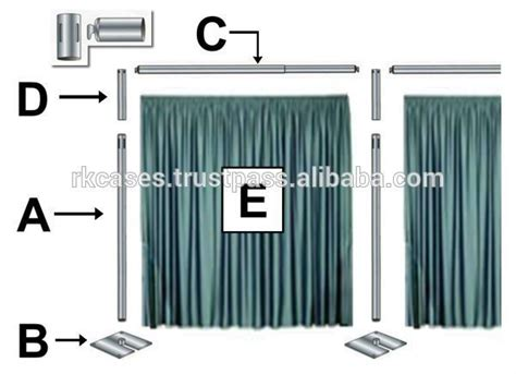 portable curtain stand 17 best images about pipe and drape on pinterest stage
