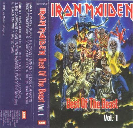 iron maiden the best of iron maiden best of the beast vol 1 encyclopaedia