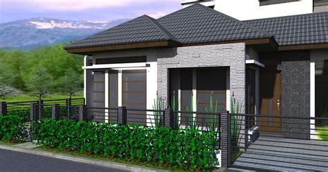 gambar depan rumah minimalis terbaru