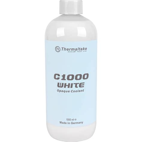 Thermaltake C1000 Opaque Merah thermaltake c1000 opaque coolant white cl w114 os00wt a b h
