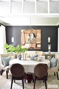 Pillows For Dining Room Chairs Summer Home Tour With Beautiful Blues And Fresh Greenery
