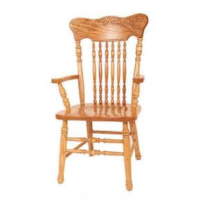 pressback arm chair walnut creek furniture