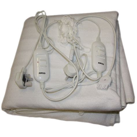 King Size Bed Electric Blanket by Pifco King Size Electric Blanket Bedding Cybercheckout