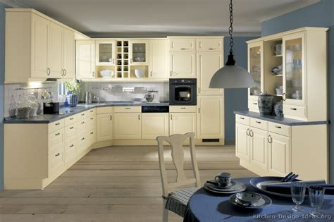 blue walls in kitchen pictures of kitchens traditional off white antique