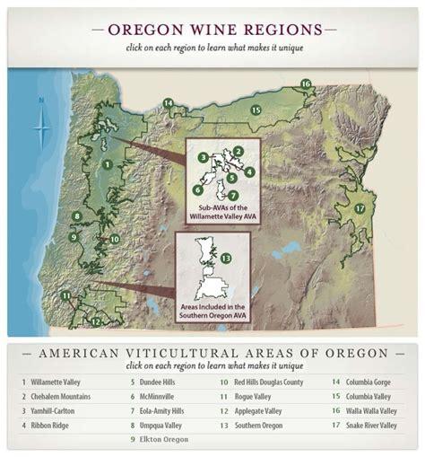 map of oregon vineyards washington wines 171 the wine economist
