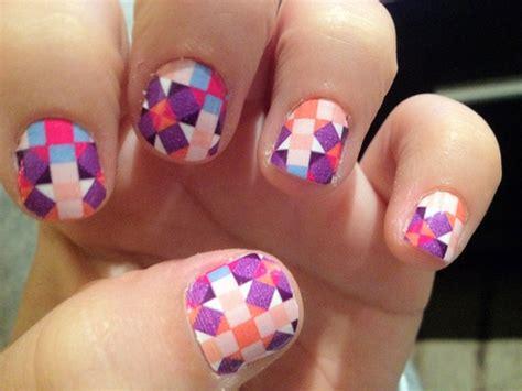 Manicure Di Salon Cantik 121 best images about kuku kuku cantik on nail checkered nails and black