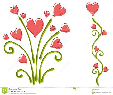 flower clip free hearts and flowers clipart