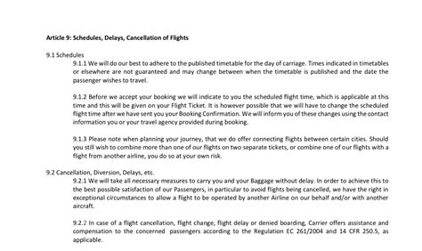 Sle Complaint Letter To Airline For Refund flight delay compensation sle letter 100 images
