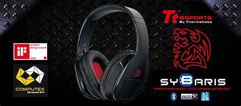 Tt Esport Sybaris Hybrid tt esports sybaris hybrid gaming headset recensione