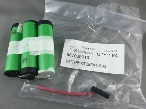 electrolux volt li ion battery pack  zbb