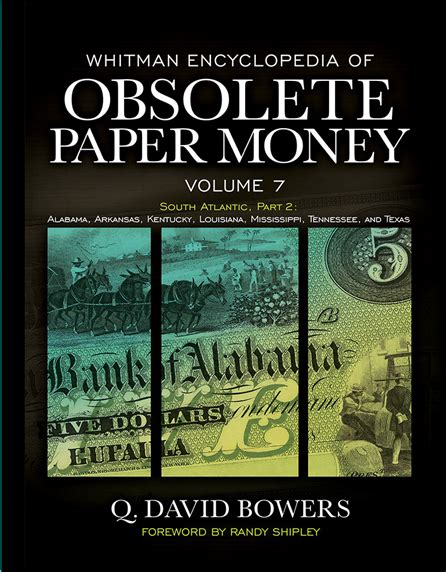 9 whitman encyclopedia of obsolete paper money books whitman encyclopedia of obsolete paper money volume 7
