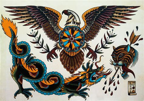 eagle tattoo flash flash tattoo design ideas project 4 gallery