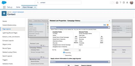 editing page layout salesforce constant contact for salesforce integration have some