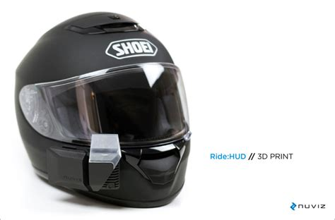 Motorradhelm Hud by The Up Display For Motorcycle Helmets By Nuviz