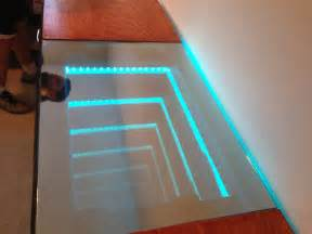 Infinity Mirror Led Desk Cool Inventions Polyword