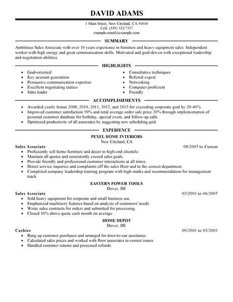 resume sles for customer service best sales associate resume exle livecareer