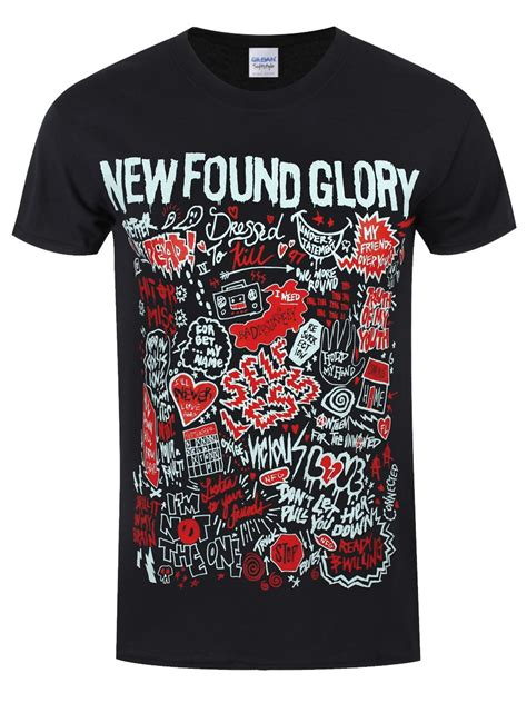 Tshirt New Found new found hits s black t shirt buy at