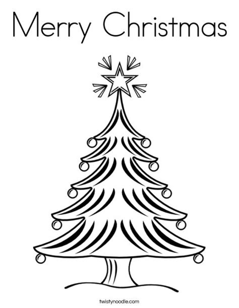printable merry christmas tree merry christmas coloring page twisty noodle