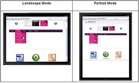 design a logo on ipad dropdown menu design inspiration