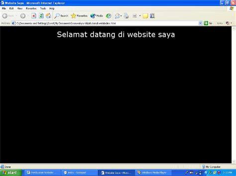 membuat website dengan kode html membuat web dengan html