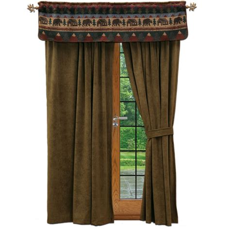 Log Cabin Curtains Rustic Cabin Curtains Curtains Blinds
