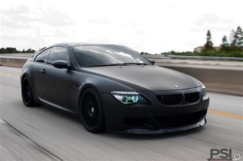 matte black bmw bimmers matte black bmw m6 e63