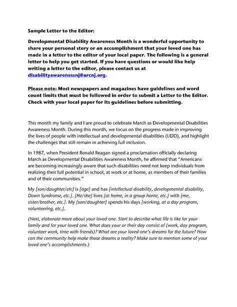 Hardship Letter Disability Sle Disability Letter From Family Docoments Ojazlink
