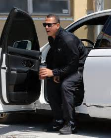 jlo new car a rod and work out together in miami