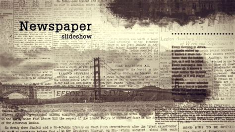 Old Newspapers Headlines Videohive After Effects Templates Youtube Newspaper After Effects Template