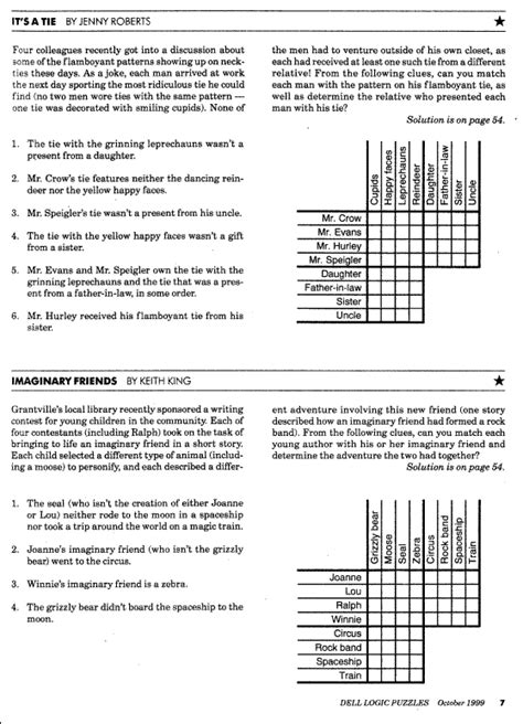 printable logic puzzle easy prolog assignment 1