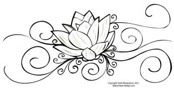 Draw A Lotus Flower 35 Beautiful Flower Drawings And Realistic Color Pencil