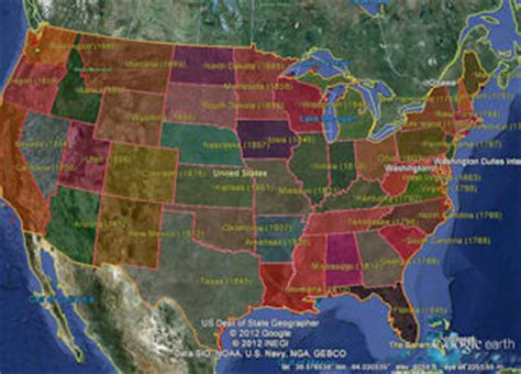 maps us states kml kml data for earth