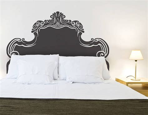 headboard sticker vintage bed headboard wall sticker contemporary wall